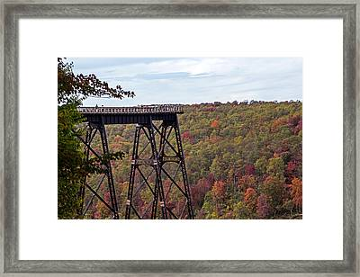 Kinzua Bridge Framed Print