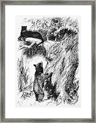 Kipling The Jungle Book Framed Print