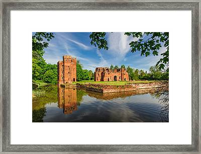 Kirby Muxloe Castle Framed Print by David Ross