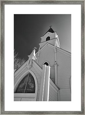 Kirche Der St Walburga Framed Print by Guy Whiteley