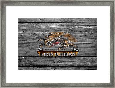 Kirin Ichiban Framed Print