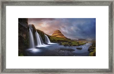 Kirkjufell Framed Print