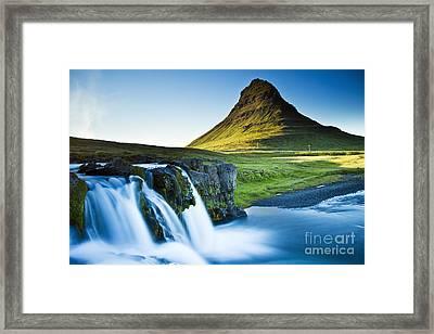 Kirkjufell Mountain Framed Print
