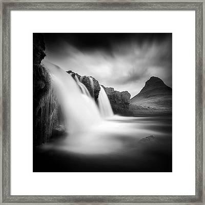 Kirkjufellfoss Framed Print