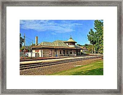 Kirkwood Station Framed Print by Marty Koch