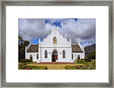 Kirstenbosch Church Framed Print by Maria Coulson