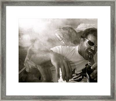 Kirt And Kuda Framed Print