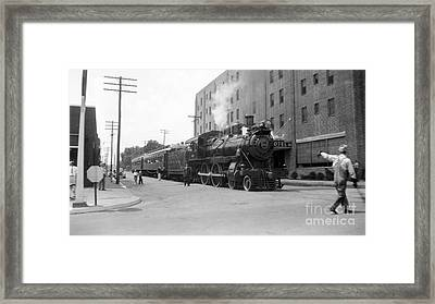 Kishacoquillas Valley Railroad, 1937 Framed Print