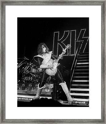 Kiss 9 Framed Print