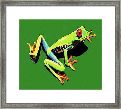 Kiss Me Framed Print by Sophia Schmierer