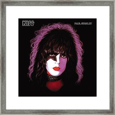 Kiss - Paul Stanley Framed Print by Epic Rights