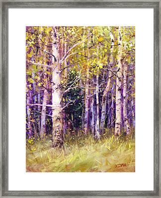 Kissing Tree Framed Print by Bill Inman