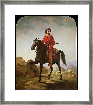 Kit Carson Framed Print by William Tylee Ranney