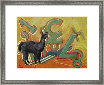 Kit Kat 123 Framed Print
