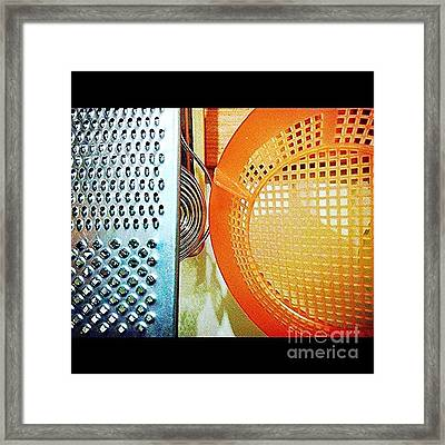 #kitchen #abstracts Framed Print