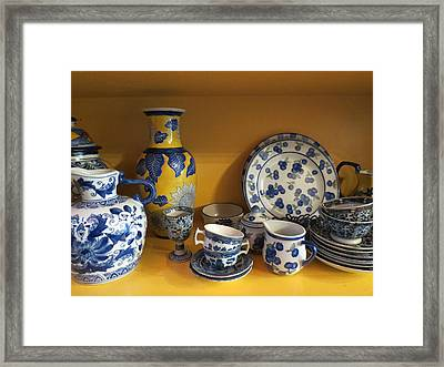 Framed Print featuring the photograph Kitchen Collection by Ramona Johnston