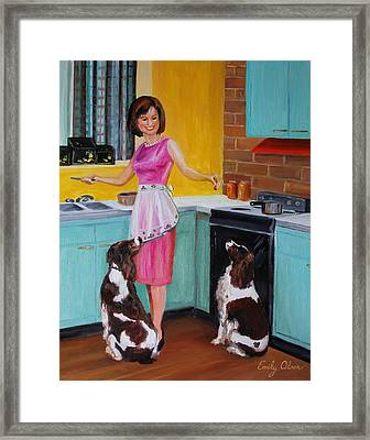 Kitchen Companions Framed Print