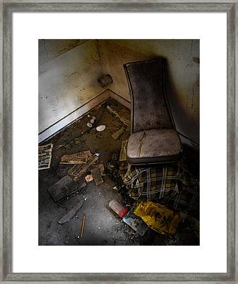 Kitchen Confessions  Framed Print by Jerry Cordeiro
