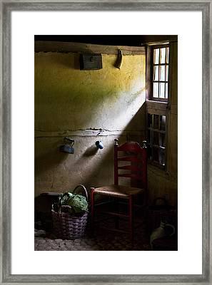 Kitchen Corner Framed Print by Dave Bowman