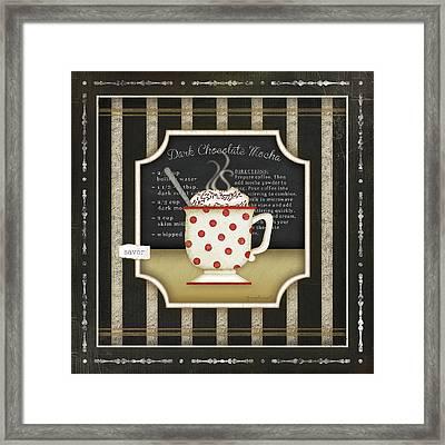 Kitchen Cuisine Coffee IIi Framed Print