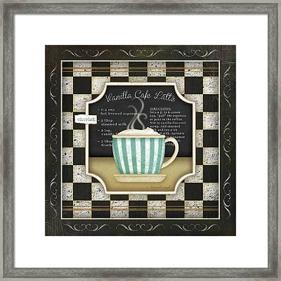 Kitchen Cuisine Coffee Iv Framed Print