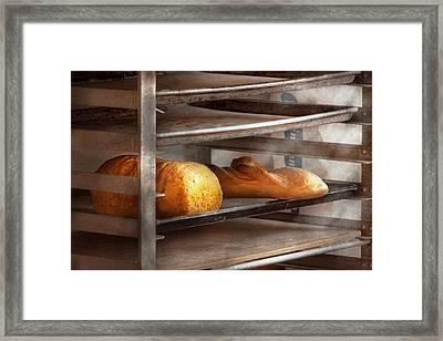 Kitchen - Food - Bread - Freshly Baked Bread  Framed Print