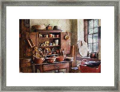 Kitchen - For The Master Chef  Framed Print by Mike Savad