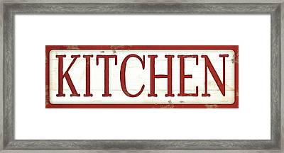 Kitchen Framed Print by Jennifer Pugh
