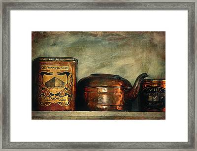 Kitchen Memories  Framed Print