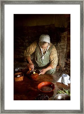 Kitchen - Nothing Is Better Than Homemade Framed Print by Mike Savad