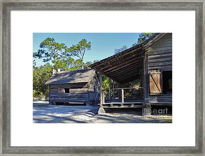Kitchen Out Back Framed Print by D Hackett