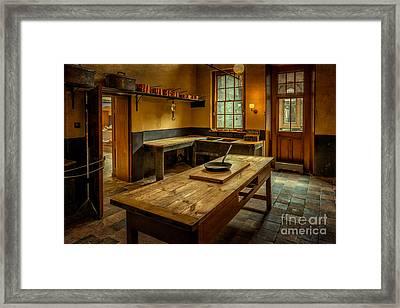 Kitchen Quarters  Framed Print