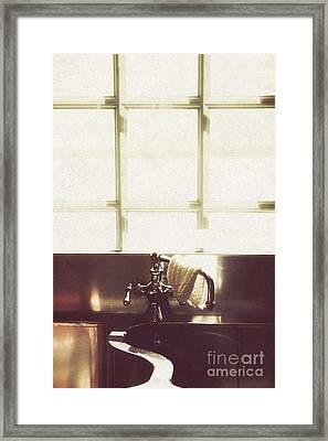 Kitchen Sink Framed Print by Margie Hurwich