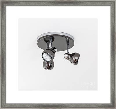 Kitchen Spotlights Framed Print