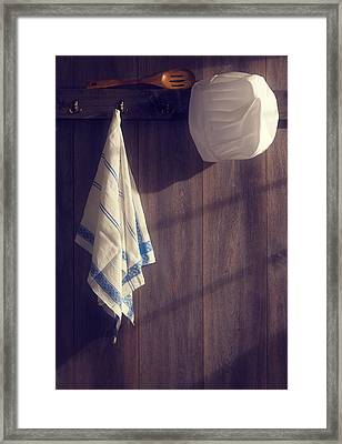 Kitchen Wall Framed Print by Amanda Elwell