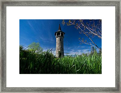 Kitchener's Pioneer Tower Framed Print by Cale Best