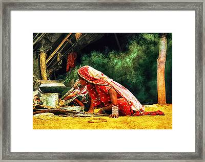 Kitchens Of India Framed Print