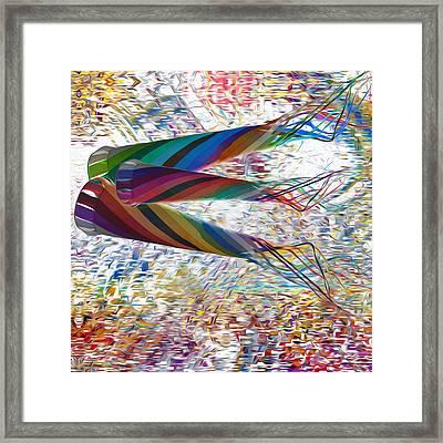 Kites Framed Print by Jack Zulli