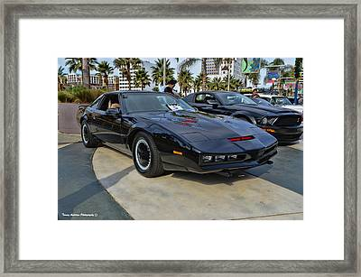 Kitt Framed Print by Tommy Anderson