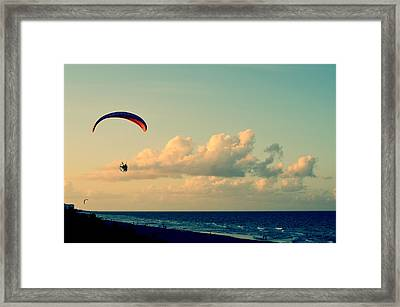 Kitty Hawk Framed Print by Laura Fasulo