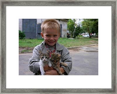Kitty Kustomer Framed Print