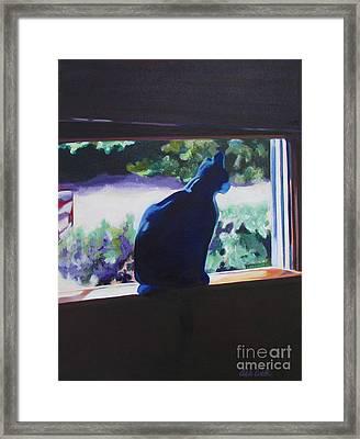Kittycat Framed Print