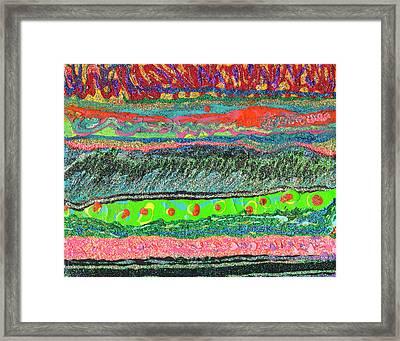 Kitzie's River Framed Print