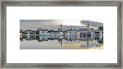 Kitzingen Germany Framed Print