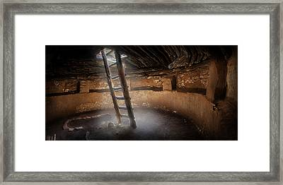 Kiva At Edge Of The Cedars Framed Print