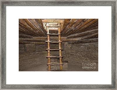 Kiva Framed Print by Keith Ducker