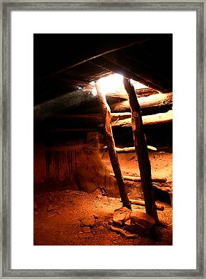 Kiva Ladder Framed Print