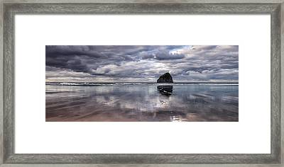 Kiwanda Clouds Framed Print by Darren  White