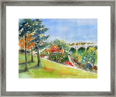 Kiwanis Park Lookout Framed Print