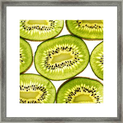 Kiwi Fruit IIi Framed Print by Paul Ge